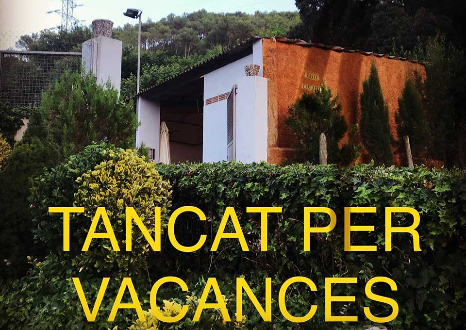 restaurant masia can jane tancat per vacances